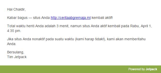 web-notice-dari-jetpack-monitoring-website