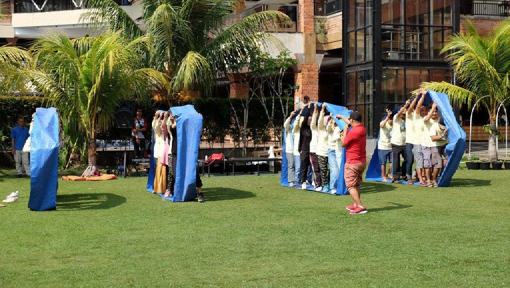 fun games gathering suralaya grand mulya bogor