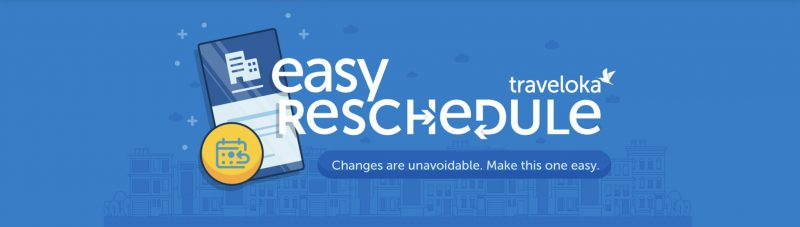 Easy reschedule traveloka