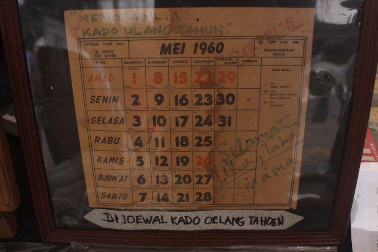 Kalender 1960 mei hari ahad bukan minggu