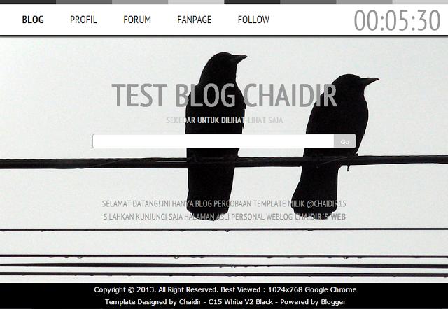 Dummy-Blog-Template-Percobaan