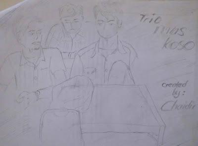 Sketsa Ruangan EL-3B Trio Mas Koso
