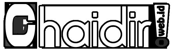 Logo Chaidir!